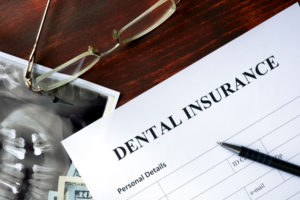 A dental insurance claim